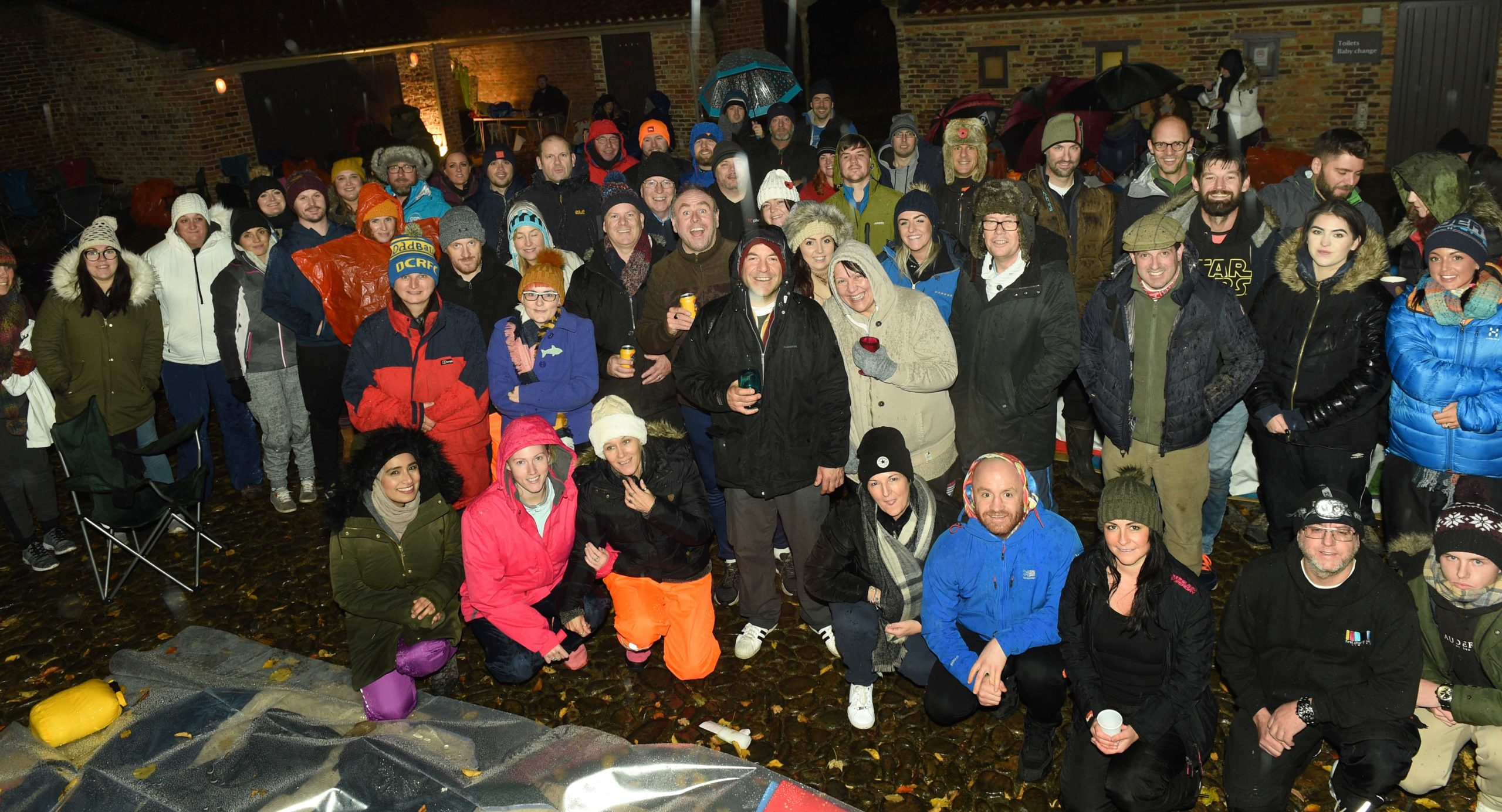 Big Tees Sleepout celebrates 1,000th fundraiser